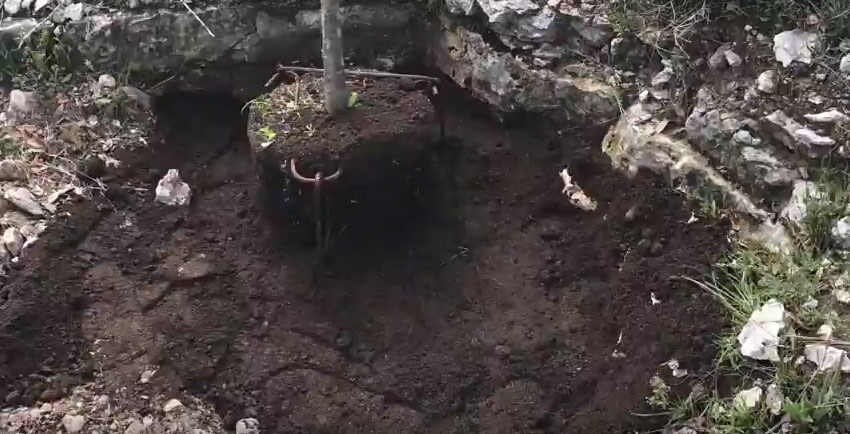 Use The GTI Stake System To Plant On Rock